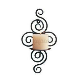 Wall Hanging Scroll Candle Holder Candlestick Sconce Home We