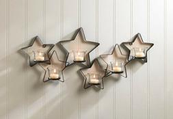 Wall Sconces For Candles Kitchen Hanging Star Mounted Tealig
