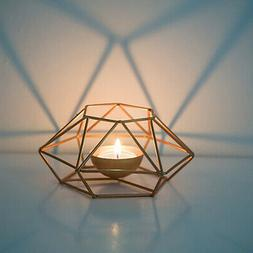 Wedding Tealight Candle Holders Geometric Candlestick Stand