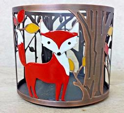 Bath and Body Works White Barn Autumn Fox 3 Wick Candle Slee