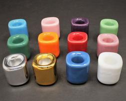 Ceramic Chime Candle Holder: You Choose Color!