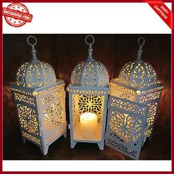 10 Lot White Moroccan Marrakech Lantern Candle Holder Weddin