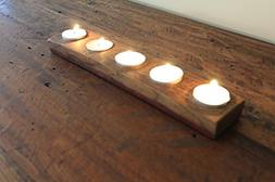 Wine Barrel Candle Holder Hand Made From Vintage Napa Wine B
