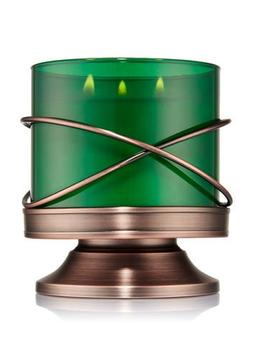 Bath and Body Works X Wire Pedestal 3 Wick Candle Sleeve.