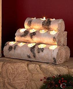 Woodland Tea Light Candleholders. Set of 4 Holders or Large
