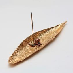 Zinc Alloy Leaf Incense <font><b>Holder</b></font> Vintage B